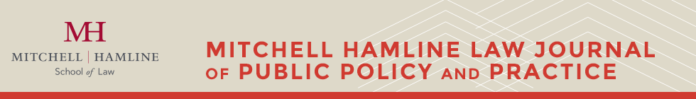 Mitchell Hamline Law Journal of Public Policy and Practice