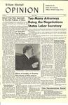 William Mitchell Opinion – Volume 2, No. 2, November 1960 by William Mitchell College of Law