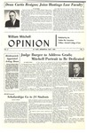 William Mitchell Opinion – Volume 6, No. 2, May 1964 by William Mitchell College of Law